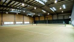 Indoor Tenis Court Interior 1